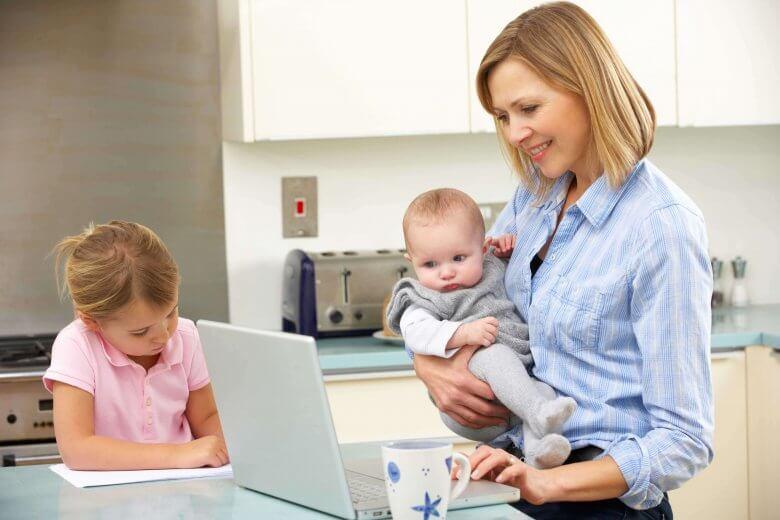 Atención a tus hijos cuando trabajas