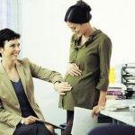 avisar en el trabajo que estás embarazada Sana y Hermosa