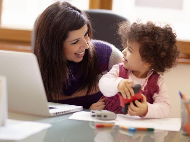 Tus niños y tú, cuando trabajas desde casa