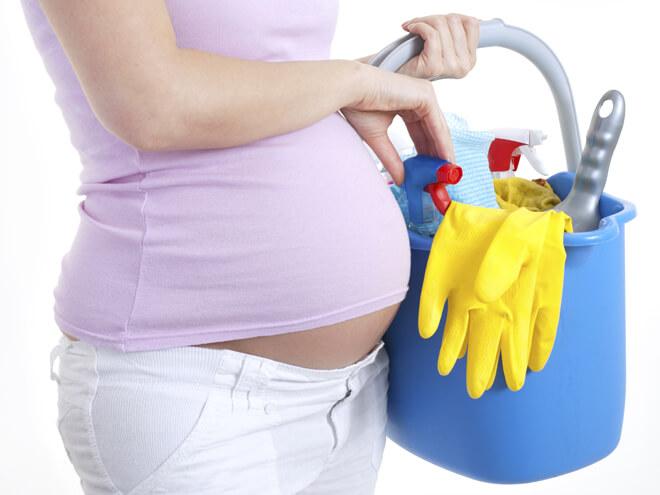 Embarazo Y Productos Químicos En Casa - sana y hermosa