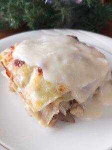La Lasaña Blanca es una lasaña diferente como opción para la cena de Navidad o Año Nuevo o simplemente para un día de antojo