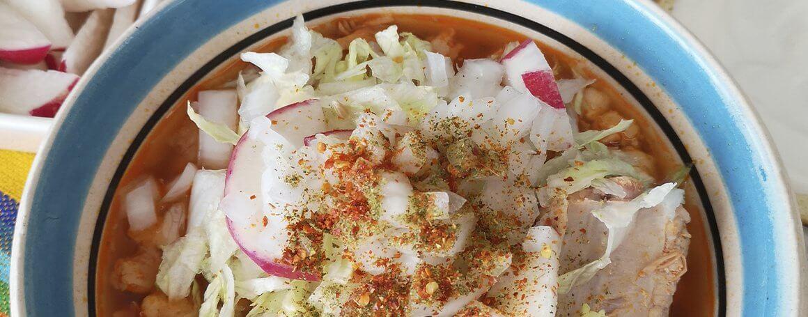 El pozole es una receta muy mexicana